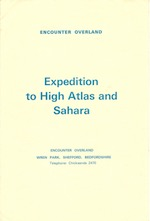 Brochure - High Atlas and Sahara