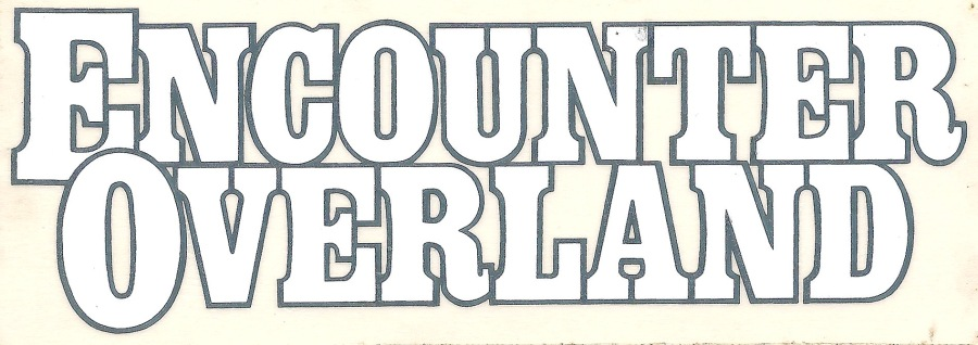 Encounter Overland sticker