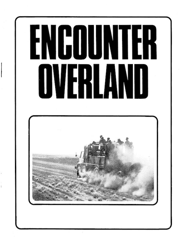 Icon Encounter Overland Brochure 1974-75