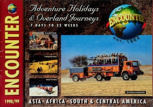 Icon Encounter Overland Brochure 1998-99