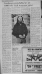 Icon 'Local man etc' re Bruce Davidson Highland Echo 11 September 1975