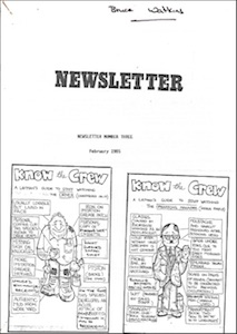 Icon Newsletter February 1985