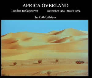 Icon Ruth Lathlean Africa Southbound November 1974