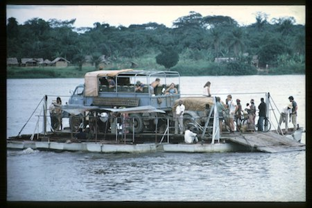 Icon Stephen Stewart Africa Northbound 1972