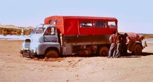 223BGF - Bogged at Oasis at El Golea December 1976