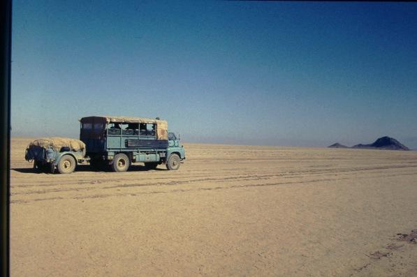 224BGF - (0) London-Kathmandu 1975 - Iranian Desert - Driver Derek Biddle