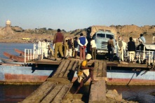 224BGF - (5) London/Kathmandu 1975 - India Ferry Crossing - Leaders Keith Miller, Derek Biddle, Martin Crabb