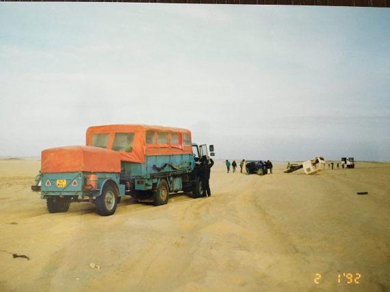 GLP200J near in Guezzam, Algeria 1992 (Mark Ritchie (EM))