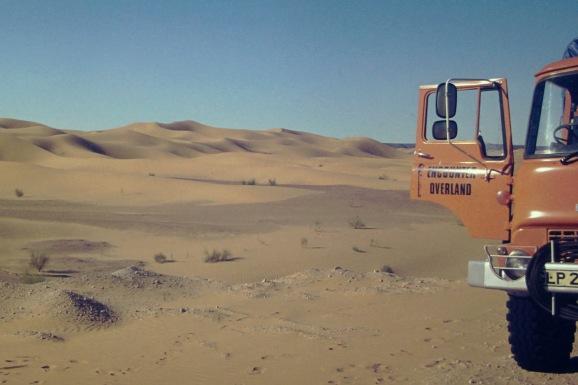 GLP203J - Africa southbound 1977 (2) - Sahara - Leader Derek Biddle