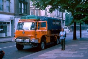 GLP203J Old Brompton Road with Linda Banks 1978 (David Hunter)