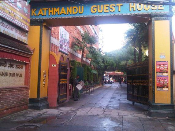 Kathmandu Guest House Entrance 2012 (Alan Kiff)