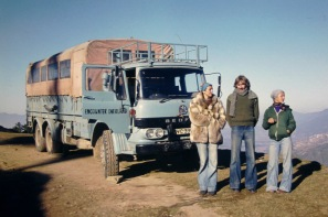 SVC339H - Kathmandu 1975 - Driver Derek Biddle