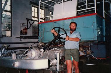 SVC339H Major rebuild Wren Park July 1984 (Mike Edwards)