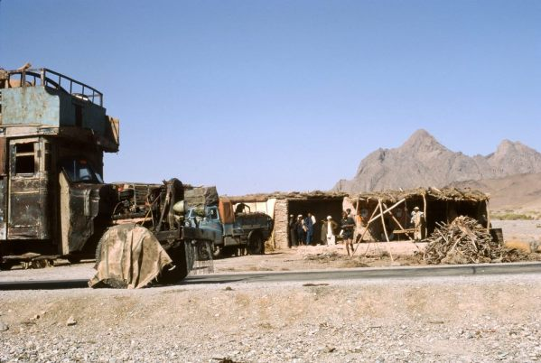 YNK229F (possibly) 1969 Chai stop between Herat and Kandahar (Robert Summers (EM))