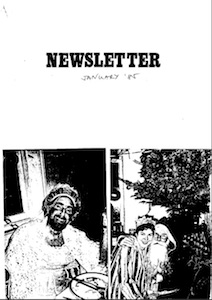 Icon Newsletter January 1985