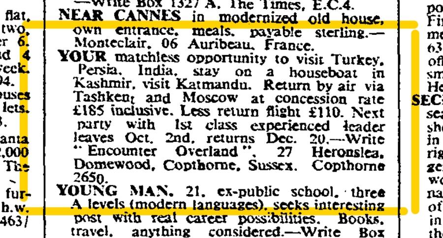 19670902 The Times - September 2, 1967