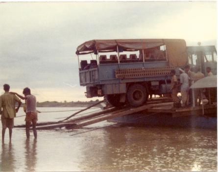 RXP586. Photo taken on Kathmandu - London expedition (24 August 1976 departure) Driver Phil Colbert (EM Christine Roberts)