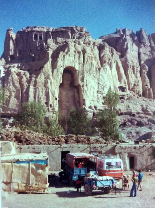 LUR975P Kathmandu-London May 1976 (driver Ian Way) (EM Graeme Wykes) at Bamiyan