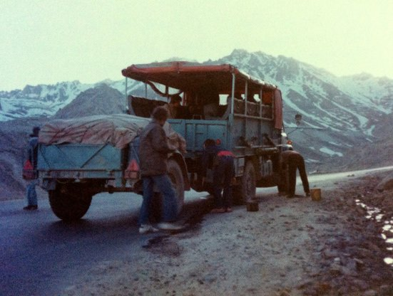 LUR975P Kathmandu-London May 1976 (driver Ian Way) (EM Graeme Wykes)