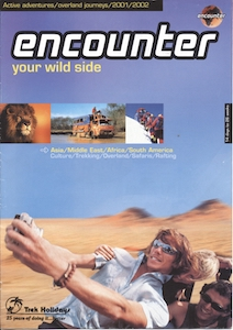 Icon Encounter Brochure 2001-2002