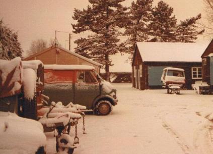 Bedford Van at (Wren Park)
