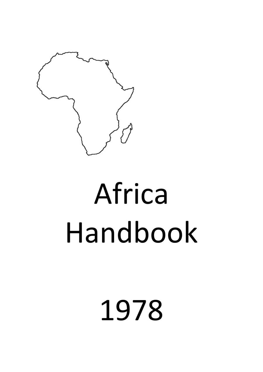 Icon Africa Handbook 1978