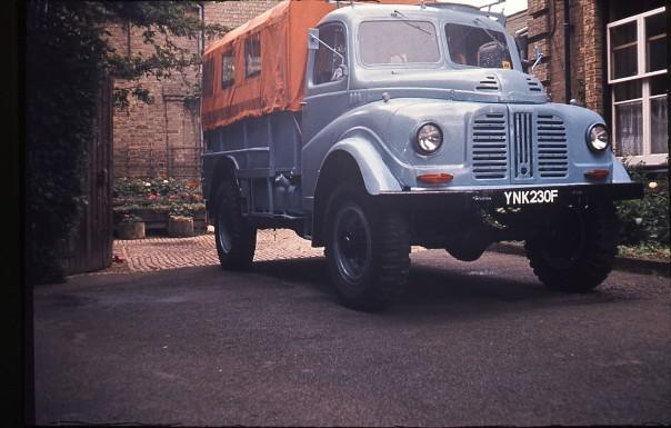 YNK230F at Wren Park 1968 - 1