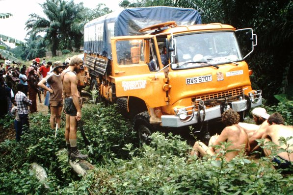 BVS970T March 1983 Zaire, Graeme Kidd driving (Paul Bilborough) - 6