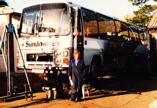DRT680T - the day before departure October 1989