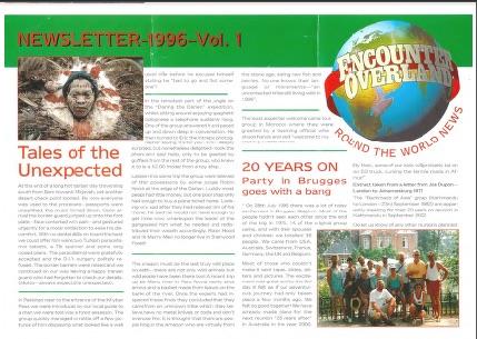 Icon Newsletter 1996 Volume 1