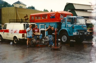 Rear axle change, Salzburg (Augie Huw Owen L/D)