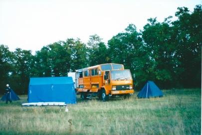 Camping in Bulgaria