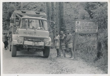WBH646S at the Equator (date unknown)