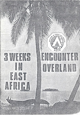 Icon 3 Weeks in East Africa 1976