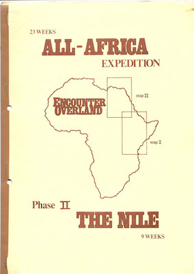 Icon All Africa Expedition Brochure 1981