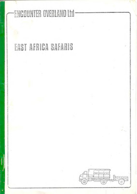 Icon East Africa Safaris Brochure 1976