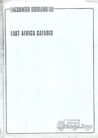 Icon East Africa Safaris Brochure 1977