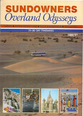 Icon Sundowners Overland Odysseys 1986-87