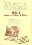Icon Encounter Overland Dates and Prices 1983-1984 A dollars NZ dollars