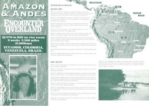 Icon Project Dossier Amazon and Andes 1994