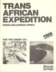 Icon Trans Africa Expedition with EO (by Trek Adventures, New York) 1979