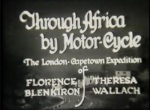 Icon Through Africa by Motor-Cycle