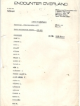 Icon Passenger List, London to Kathmandu September 1974