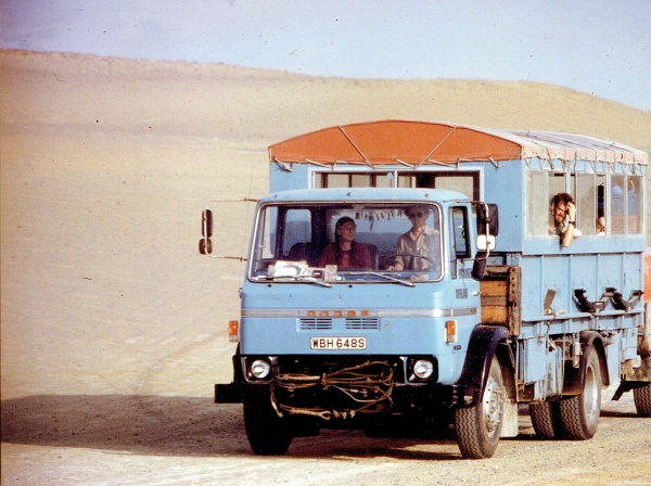WBH648S on the Paracas Peninsula, south of Lima - First Brief Encounter Peru and Incas late 1982 (Tony Simmons)