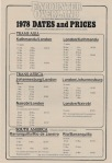 Icon Encounter Overland Dates and Prices 1978 US$